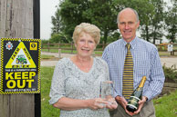 NFU Mutual Crime Fighter Award Winner Rosemary Padfield