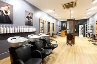 Salon interior photography